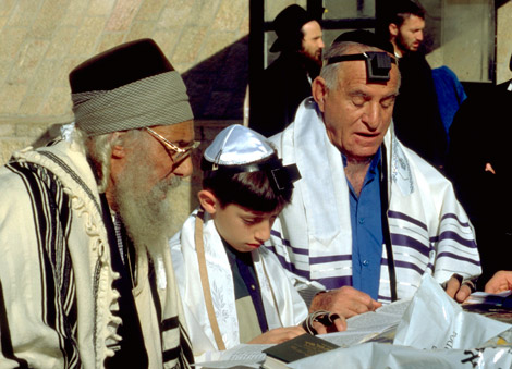 Juden Gebet